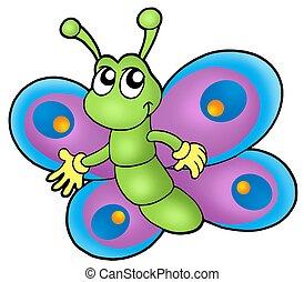 小さい, 蝶, 漫画
