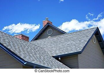 屋根, 家