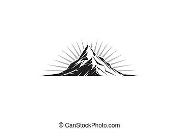 山の ピーク