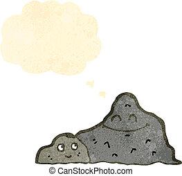 山, レトロ, 漫画