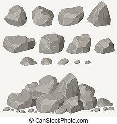 岩石, セット