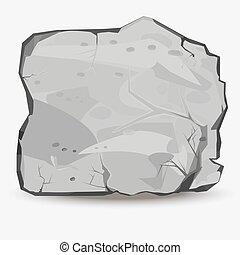 岩石, 大きい