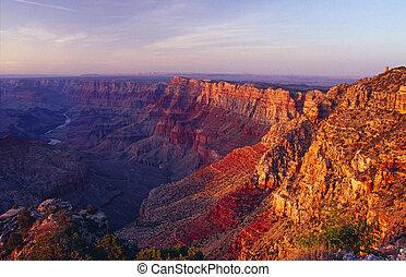 峡谷, 公園, 国民, 壮大