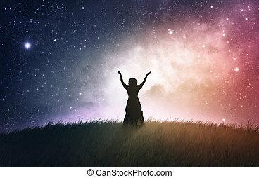 崇拝, 夜