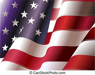 州, 合併した, –, ポスター, デザイナー, 独立, 第4, 日, america., 7月, グラフィック
