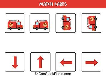 左, 方向づけ, 権利, 漫画, ∥あるいは∥, の上, 。, 火, truck., 空間である