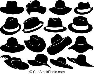 帽子, イラスト