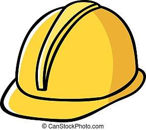 帽子, 建設, 働き者