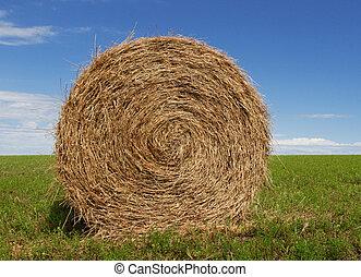干し草の ベール