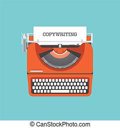 平ら, 概念, copywriting, イラスト