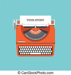 平ら, 物語, 分け前, あなたの, イラスト