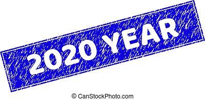 年, 長方形, textured, シール, 切手, 2020, グランジ