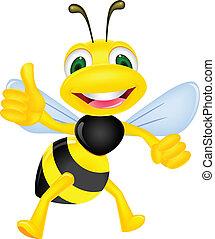 幸せ, 「オーケー」, 蜂