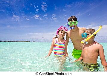 幸せ, 海洋, 子供