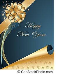 幸せ, 背景, 新年
