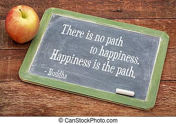 幸福, 引用, 仏