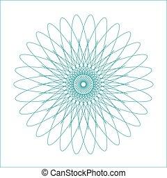 幾何学的な 形, watermark, spirograph, suitable