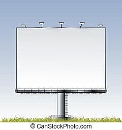広告板, 屋外, 壮大
