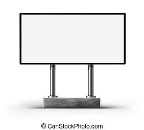広告板, 広告, ブランク