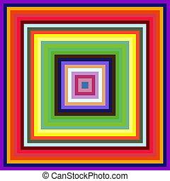 広場, カラフルである, 抽象的, バックグラウンド。, 減少, フレーム, 大きさ