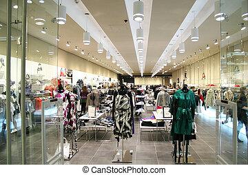 店, 女性, 衣服