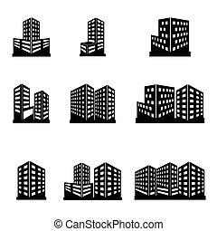 建物, アイコン