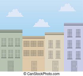 建物, アパート