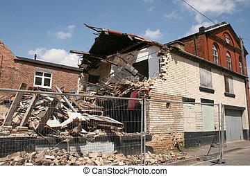 建物, 倒れられる