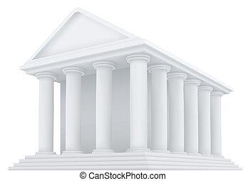 建物, 古代, ベクトル