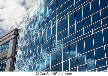 建物, 抽象的, 劇的, 企業である
