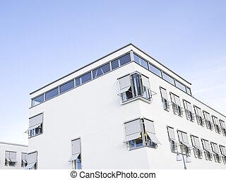 建物, 白, 現代