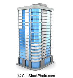 建物, 3d