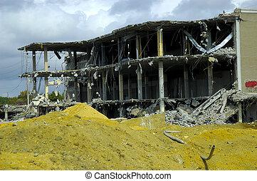 建物, demolished
