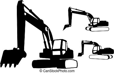 建設, (vector), 車