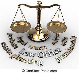 弁護士, スケール, 財産, 意志, 言葉, 遺言検認