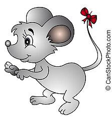 弓, 尾, マウス