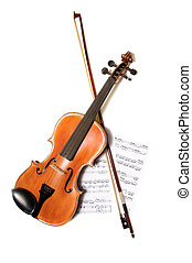 弓, 音楽, バイオリン