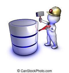 引き抜くこと, データ, 概念, 特徴, データベース