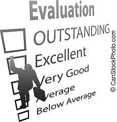 形態, ビジネス, 上昇, の上, 改善, 従業員, 評価
