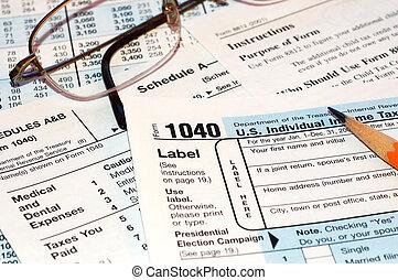 形態, 税