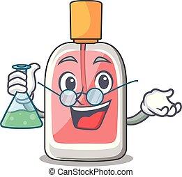 形, 教授, parfum, botlle, 漫画