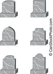 形, headstone