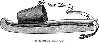 彫版, 型, スケート