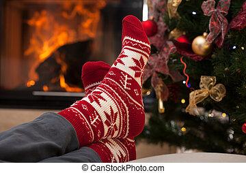 後で, クリスマス, リラックスしなさい