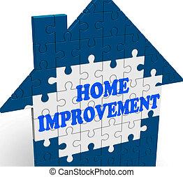 復活させなさい, 手段, 家, 改善, 新しくする, 家, ∥あるいは∥