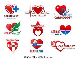 心, 心臓学, シンボル, 健康, 心臓, 手術