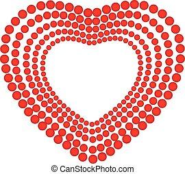 心, 愛, ロゴ