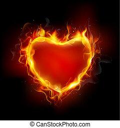 心, 燃焼