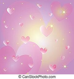 心, st., グリーティングカード, バレンタイン