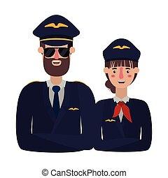 恋人, パイロット, 特徴, avatar